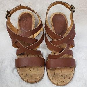 Korks by Kork-Ease Nedra Brown Sandals
